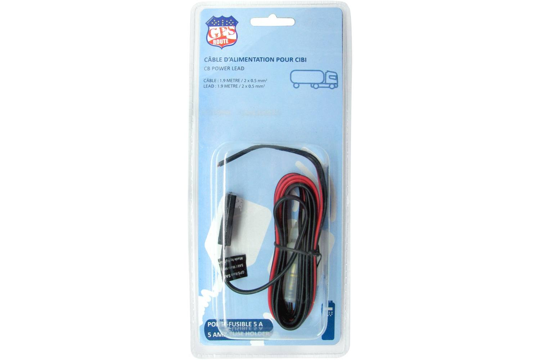 Câble électrique GPS ROUTE Xmm Porte Fusible GPS - Porte fusible